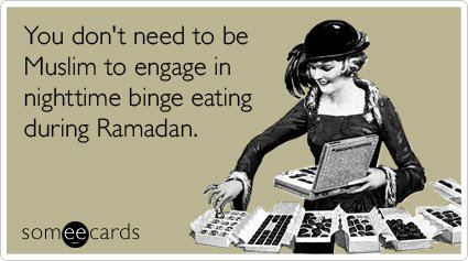 Ramadan chocolate yay